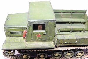 35140 Ya-12 SOVIET ARTILLERY TRACTOR Late Production + Maxim Aleinikov