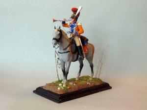 16035 TRUMPETER 2nd Westphalian Cuirassiers Regiment 1809 Napoleonic wars + Pacu