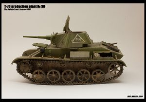 35113 T-70M SOVIET LIGHT TANK. SPECIAL EDITION