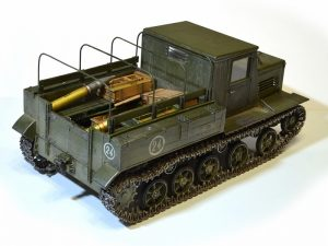 35140 Ya-12 SOVIET ARTILLERY TRACTOR Late Production + Alexey Balin