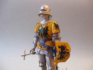 16002 GERMAN KNIGHT XV CENTURY + Pacu