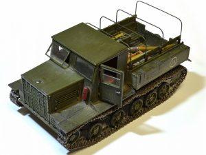 35140 Ya-12 SOVIET ARTILLERY TRACTOR Late Production + Alexey Balin