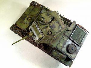 35117 SOVIET LIGHT TANK T-80. SPECIAL EDITION + VIP