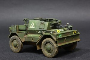 35077 DINGO Mk.III BRITISH SCOUT CAR w/CREW + Dmitriy