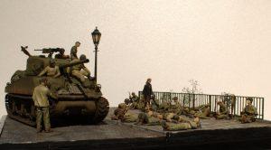 35200 U.S. SOLDIERS AT REST + 35070 U.S. TANK CREW. NW EUROPE + 35560 STREET LAMPS & CLOCKS + Modellschmiede Hämelerwald