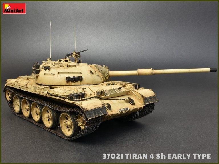37021 以色列蒂朗4Sh中期坦克 早期型(带内构)