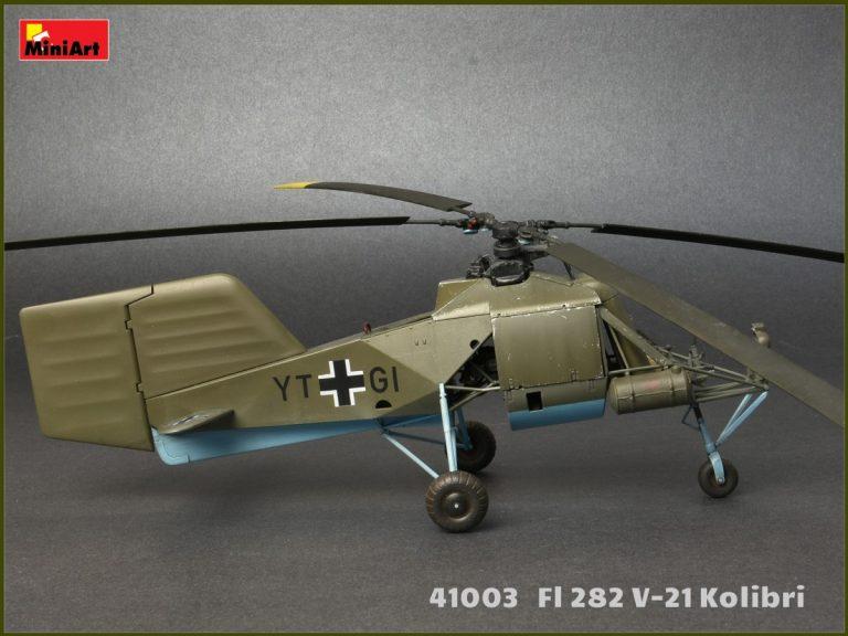 41003 ВЕРТОЛЕТ Fl 282 V-21 КОЛИБРИ
