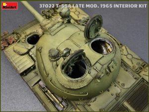 Photos 37022 T-55 Mod. 1965 späte Ausführung mit Inneneinrichtung