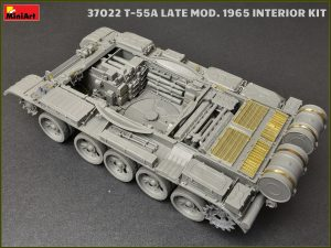 Build up 37022 T-55A LATE MOD. 1965 INTERIOR KIT