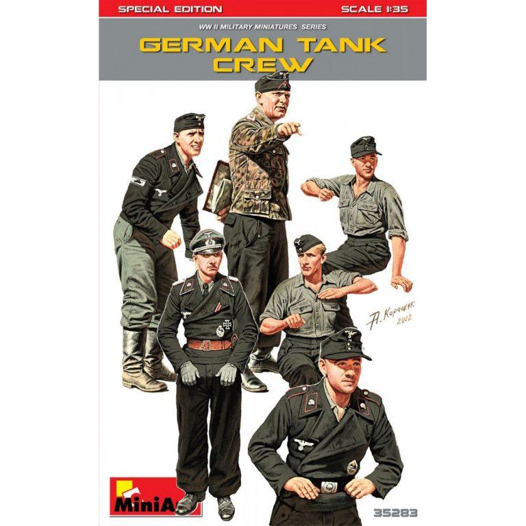 ドイツ戦車兵6体入(特別版)
