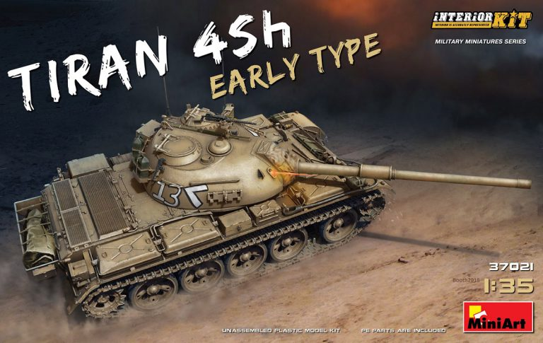 37021 TIRAN 4 Sh EARLY TYPE. INTERIOR KIT