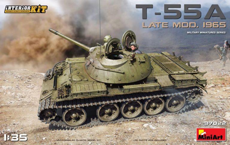 37022 T-55 Mod. 1965 späte Ausführung mit Inneneinrichtung