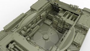 3D renders 37022 T-55A LATE MOD. 1965 INTERIOR KIT