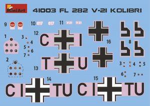 Content box 41003 Fl 282 V-21 KOLIBRI