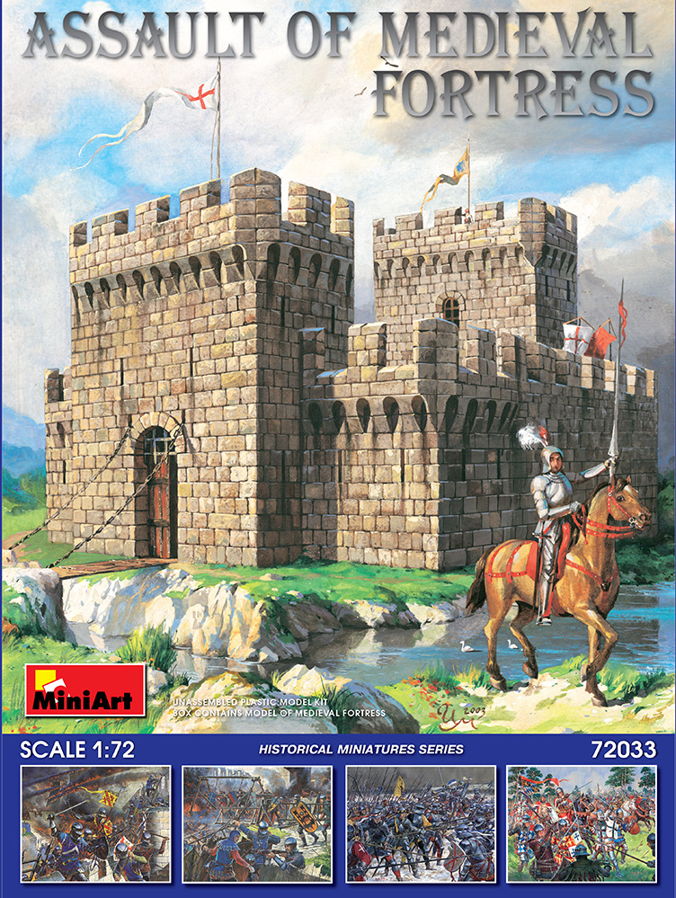 72033 ASSAULT OF MEDIEVAL FORTRESS