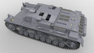 3D renders 35210 Ⅲ号突撃砲Oシリーズ