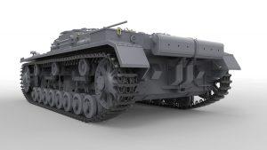 3D renders 35210 STUG. III «0» Cерии