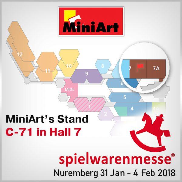 Miniart Models на международной выставке игрушек Spielwarenmesse 2018