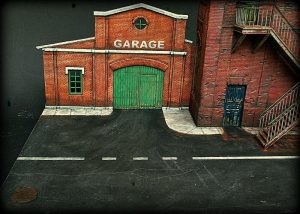 35544 FACTORY CORNER w/ STEPS + 35511 RUINED GARAGE + Mario Capuozzo