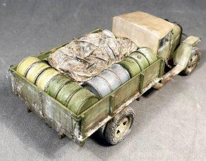 35134 GAZ-MM Mod.1943 CARGO TRUCK + Alexander Fomin