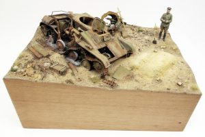35215 T-60 EARLY SERIES. SOVIET LIGHT TANK. INTERIOR KIT + 38011 SOVIET VILLAGERS + Tomasz Janiszewski