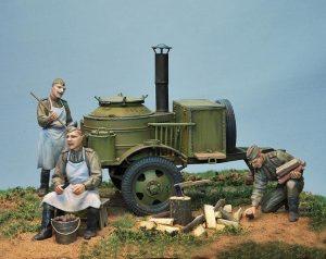 35061 SOVIET FIELD KITCHEN PK-42 + Den Kusnezow