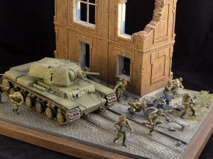 35520 RUINED VILLAGE HOUSE + 35118 BRITISH TANK RIDERS (NW EUROPE) + 35083 BRITISH ROYAL ENGINEERS + Mutafyan Andrey