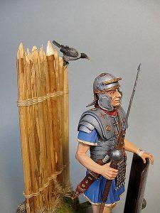 16007 ROMAN LEGIONARY II CENTURY A.D. + Gary Cooper