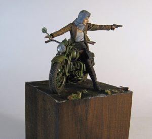 35080 U.S. WW II Motorcycle WLA + Alexander Zenkin