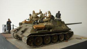 35055 SOVIET SOLDIERS RIDERS + 35086 GERMAN CIVILIANS + 36044 RIVER EMBANKMENT SECTION + Denis Pozdnyakov