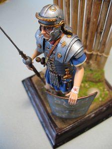 16007 ROMAN LEGIONARY II CENTURY A.D. + Pacu