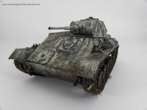 35113 T-70M SOVIET LIGHT TANK. SPECIAL EDITION + Michelangelo Sicilia