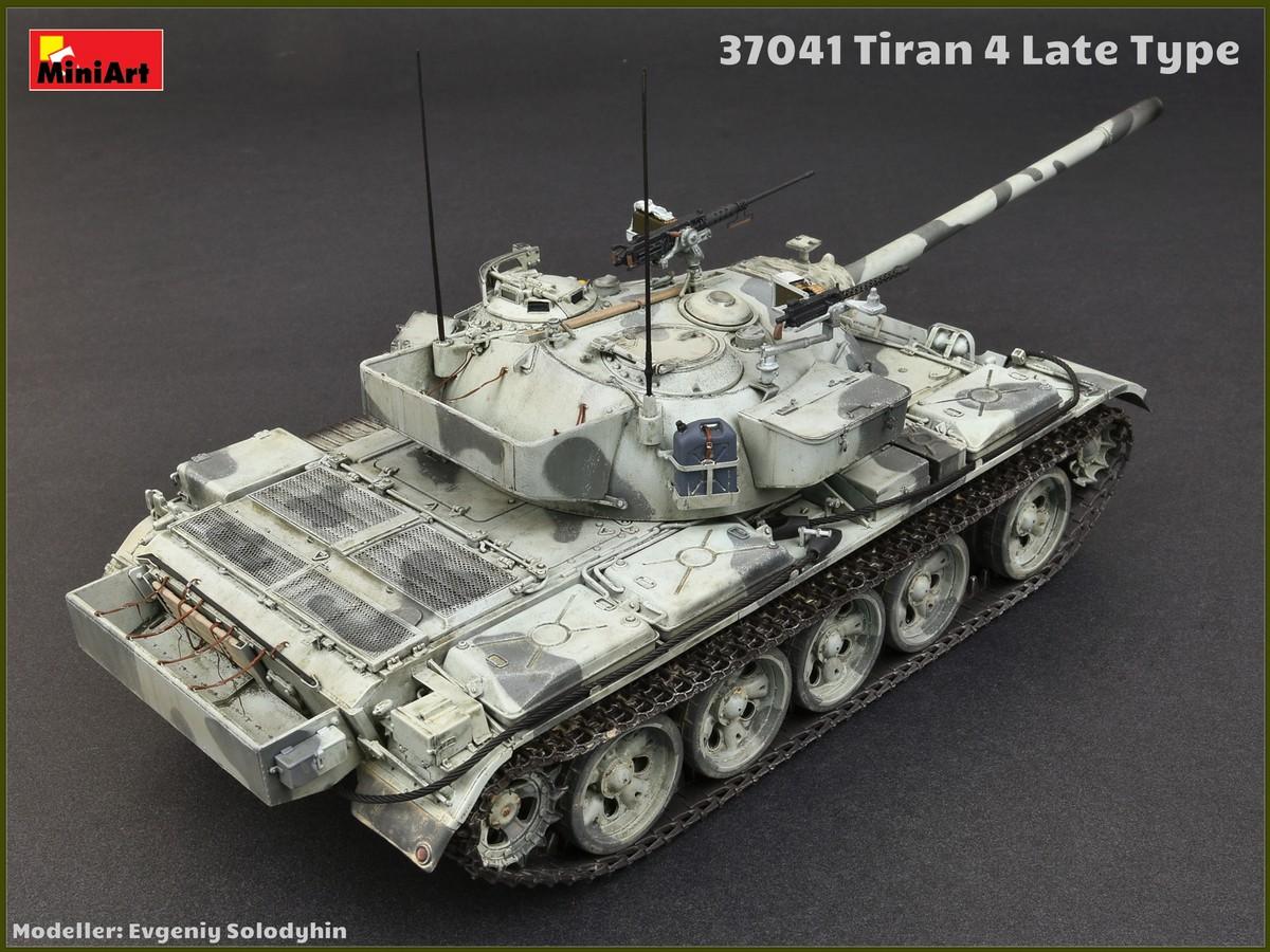 Miniart 1//35 Tiran 4 Late Type Medium Tank # 37041