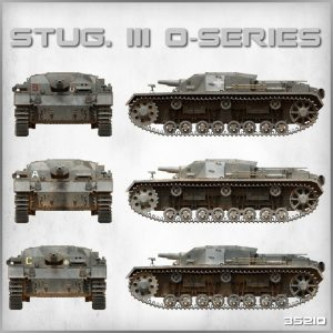 Side views 35210 STUG. III 0-SERIES
