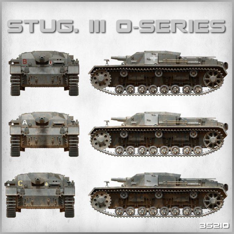 35210 STUG. III «0» Cерии