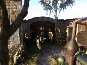 "36018 FARMHOUSE w/DIORAMA BASE + 35084 ""Battle of the Bulge"" ARDENNES 1944 + Ronny Lamberti"