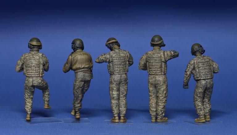 37005 アメリカ戦車兵5体入