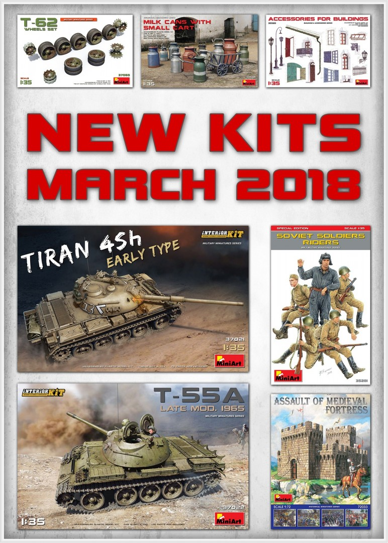 New Kits Available for Sale March 2018