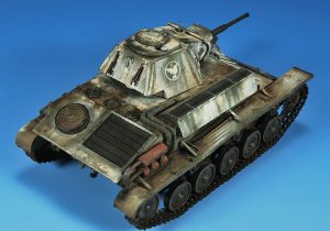 35194 T-70M SOVIET LIGHT TANK w/CREW. SPECIAL EDITION