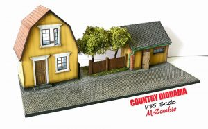 36027 COUNTRY DIORAMA + Mr.Zombie