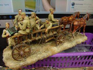 35055 SOVIET SOLDIERS RIDERS + Alexander Salivanchuk