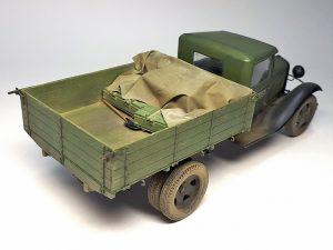 35124 GAZ-AA CARGO TRUCK 1.5t TRUCK + Andrey Zemlyanichkin