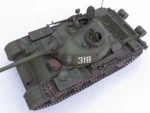37004 T-54-2 Mod. 1949 SOVIET MEDIUM TANK + Boris