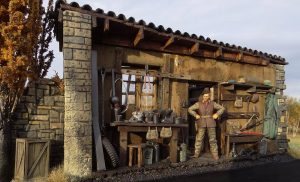 36008 ITALIAN VILLAGE DIORAMA + 35078 BRITISH TANK CREW + 35118 BRITISH TANK RIDERS (NW EUROPE) + Love Scale Models