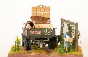38013 SOVIET 1,5 TON CARGO TRUCK + Alexey Baranov