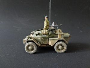 35074 DINGO Mk.II SCOUT CAR w/CREW Pz.Kmpf. Mk.I 202(e) + Mikhail Ukolov