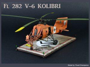 41001 Fl 282 V-6 KOLIBRI + Pavel Cherepanov