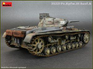 Photos 35221 Ⅲ号戦車B型5体乗員付