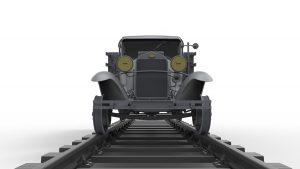 3D renders 35265  1.5トンレールロードトラックAAタイプ