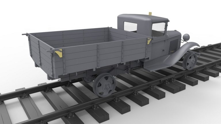 35265 1,5 TON  RAILROAD TRUCK AA TYPE